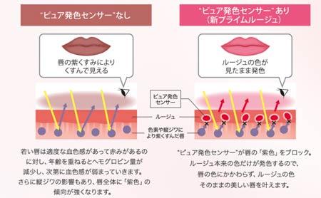 ピュア発色センサーのメカニズム